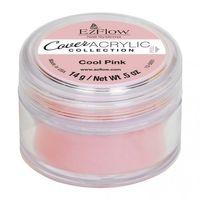 EzFlow Cover Acrylic Powder COOL PINK 0.5oz/14gr.
