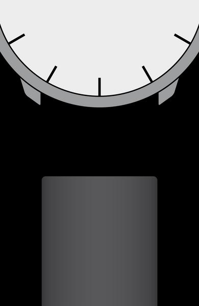 Edelstahl-Gliederband 18mm