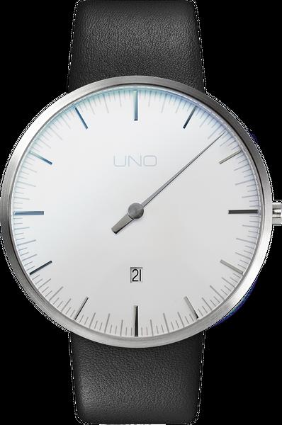 Armband UNO+ Jubiläumsuhr Quarz Perlweiss