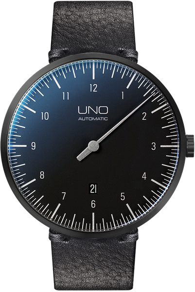 UNO PLUS CARBON Black Edition Automatik 001