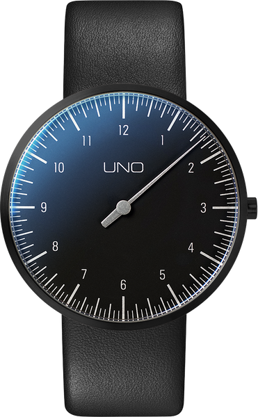 UNO titan Quartz Black Edition