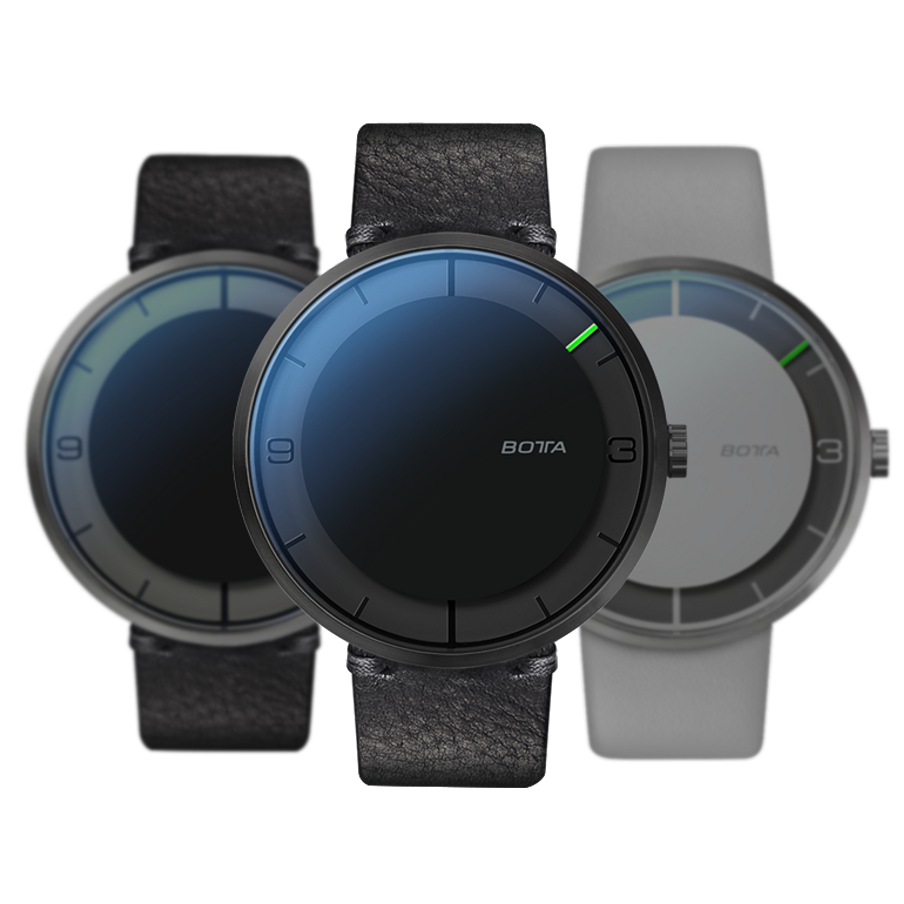 NOVA PLUS CARBON All Black Automatik