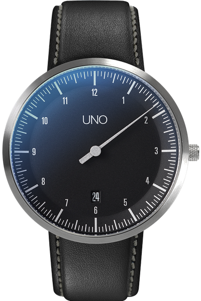 Strap UNO Automatic Black 001