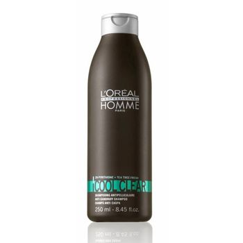 Loreal Homme Cool Clear Shampoo 250ml - Anti Schuppen Shampoo