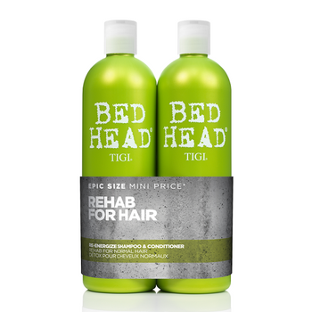 Tigi Bed Head Re-Energize Tween Duo Shampoo 750ml + Conditioner 750ml