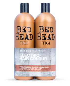 Tigi Bed Head Colour Goddess Oil Infused Tween Duo Shampoo 750ml + Conditioner 750ml