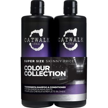 Tigi Catwalk Fashionista Blonde Tween Duo Shampoo 750ml + Conditioner 750ml