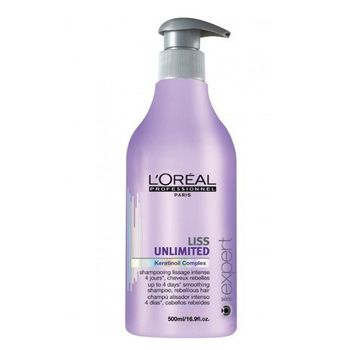 Loreal Expert Serie Liss Unlimited Shampoo 500ml