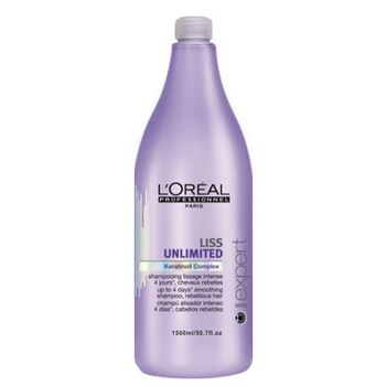 Loreal Expert Serie Liss Unlimited Shampoo 1500ml