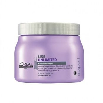 Loreal Expert Serie Liss Unlimited Maske 500ml