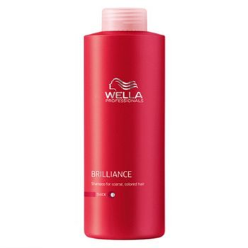 Wella Care Brilliance Haarshampoo 1000ml kräftiges coloriertes Haar