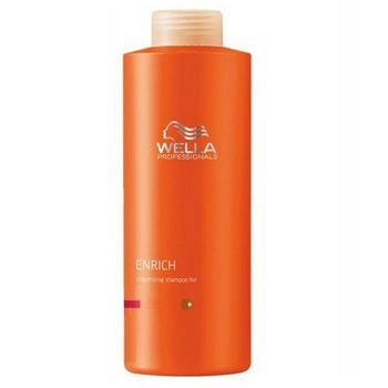Wella Care Enrich Haarshampoo 1000ml kräftiges Haar