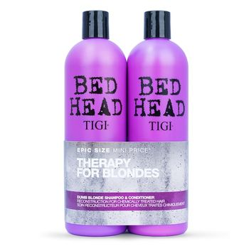 Tigi Bed Head Colour Dumb Blonde Tween Duo Shampoo 750ml + Conditioner 750ml