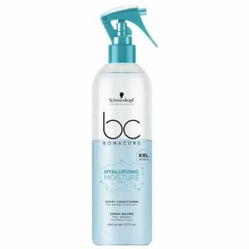 Schwarzkopf BC Hyaluronic Moisture Kick Spray Conditioner 400ml - XXL