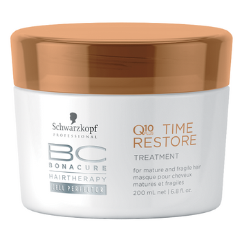 Schwarzkopf BC Q10 Time Restore Treatment 200ml - alte Serie