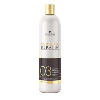 Schwarzkopf Supreme Keratin 03 Extending Shampoo 500ml