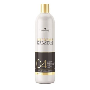 Schwarzkopf Supreme Keratin 04 Smooth Conditioning Gloss Mask 500ml