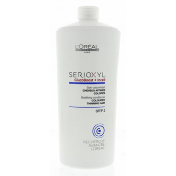 Loreal Serioxyl Bodifying Conditioner Coloured Thinning Hair 1000ml
