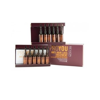 Revlon Pro You Hair Care Anti-Hair Loss Treatment 12x6ml
