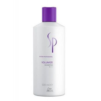 Wella SP System Professional Volumize Shampoo 500ml + Dosierpumpe
