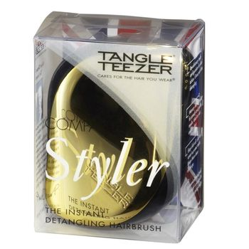 Tangle Teezer Compact Styler Gold Rush - Haarbürste Gold/Schwarz – Bild 3