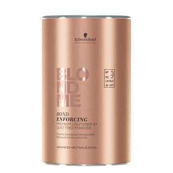 Schwarzkopf Blondme Bond Enforcing Premium Lightener 9+ Aufheller 450g