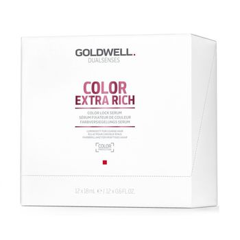 Goldwell Dualsenses Color Extra Rich Lock Serum 12x18ml – Bild 1
