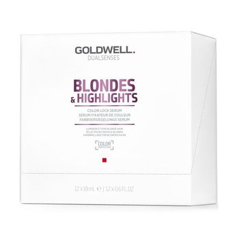 Goldwell Dualsenses Blondes & Highlights Color Lock Serum 12x18ml – Bild 1