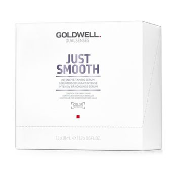Goldwell Dualsenses Just Smooth Intensive Taming Serum 12x18ml – Bild 1
