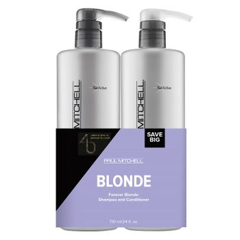 Paul Mitchell Save One Duo Forever Blonde Shampoo 710ml + Forever Blonde Conditioner 710ml