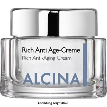 Alcina Rich Anti Age-Cream - 250ml