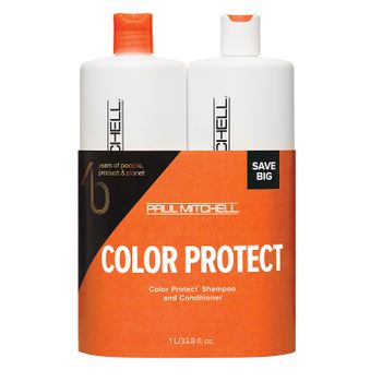 Paul Mitchell Color Protect Shampoo 1000ml + Conditioner 1000ml
