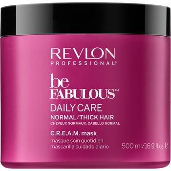Revlon Be Fabulous Normal/Thick Cream Mask - 500ml