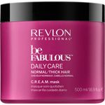 Revlon Be Fabulous Normal/Thick Cream Mask - 500ml 001