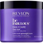 Revlon Be Fabulous Fine Cream Mask - 500ml 001