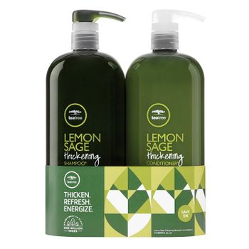 Paul Mitchell Lemon Sage Shampoo 1000ml + Conditioner 1000ml