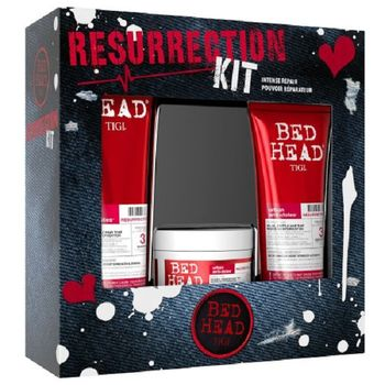 Tigi Bed Head Resurrection Shampoo 250ml + Conditioner 200ml + Mask 200ml - Geschenkset