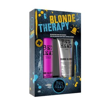 Tigi Bed Head Colour Dumb Blonde Shampoo 400ml + Dumb Blonde Reconstructor 200ml - Geschenkset