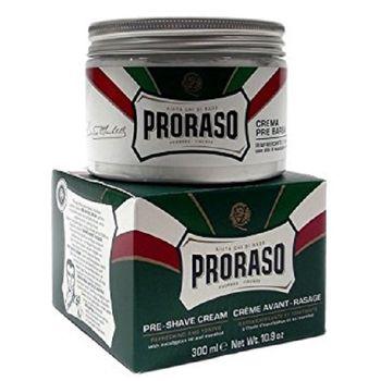 Proraso Green Pre-Shaving Cream 300ml - Crema Pre Barba