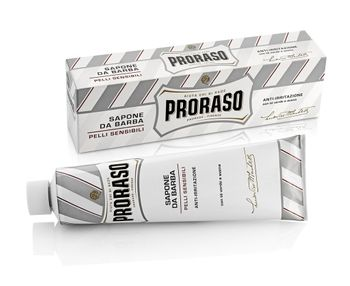 Proraso White Shaving Cream Sensitive 150ml - Sapone Da Barba