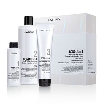 Matrix Bond Ultime8 Salon Kit - 2xStep1 je125ml & 1xStep2 500ml