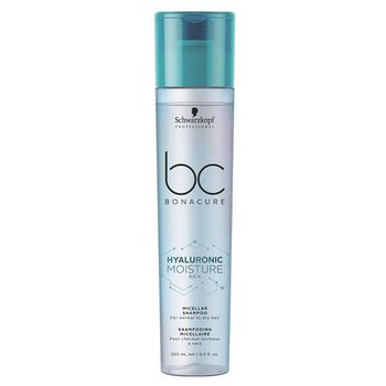 Schwarzkopf BC Hyaluronic Moisture Kick DUO Set - Shampoo 250ml + Spray Conditioner 200ml – Bild 2