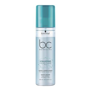 Schwarzkopf BC Hyaluronic Moisture Kick DUO Set - Shampoo 250ml + Spray Conditioner 200ml – Bild 3