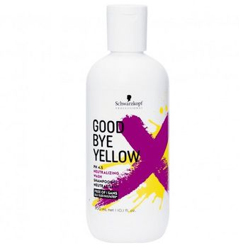 Schwarzkopf Goodbye Yellow Neutralisierendes Shampoo 300ml