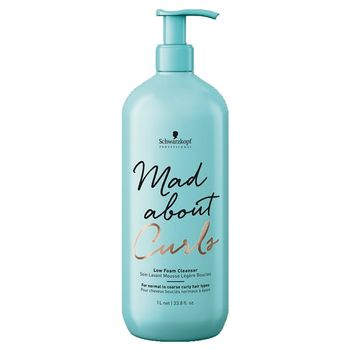 Schwarzkopf Mad About Curls Low Foam Cleanser 1000ml - Shampoo