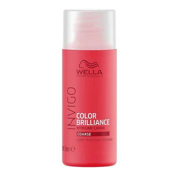 Wella Invigo Color Brilliance Haarshampoo 50ml kräftiges coloriertes Haar