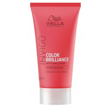 Wella Invigo Color Brilliance Mask 30ml feines bis normales coloriertes Haar