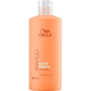 Wella Invigo Nutri-Enrich Haarshampoo 500ml + Dosierpumpe – Bild 1