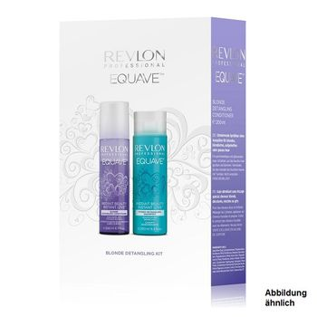 Revlon Equave Blonde Duo Set Blonde Detangling Conditioner 200ml + Hydro Detangling Shampoo 250ml