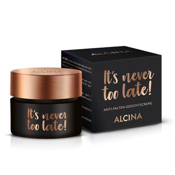 Alcina It's never too late! Anti-Falten-Gesichtscreme 50 ml